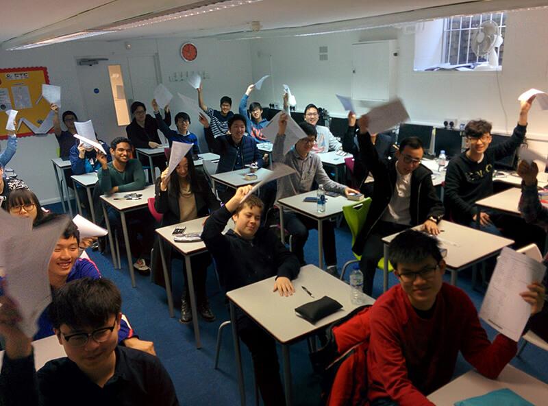 Abbey College Cambridge GCSE Physics Olympiads students