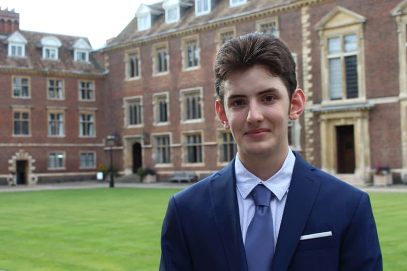 Abbey College Cambridge Student Agustin - Experiences Life at Cambridge