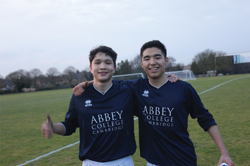 Abbey College Cambridge Football Match