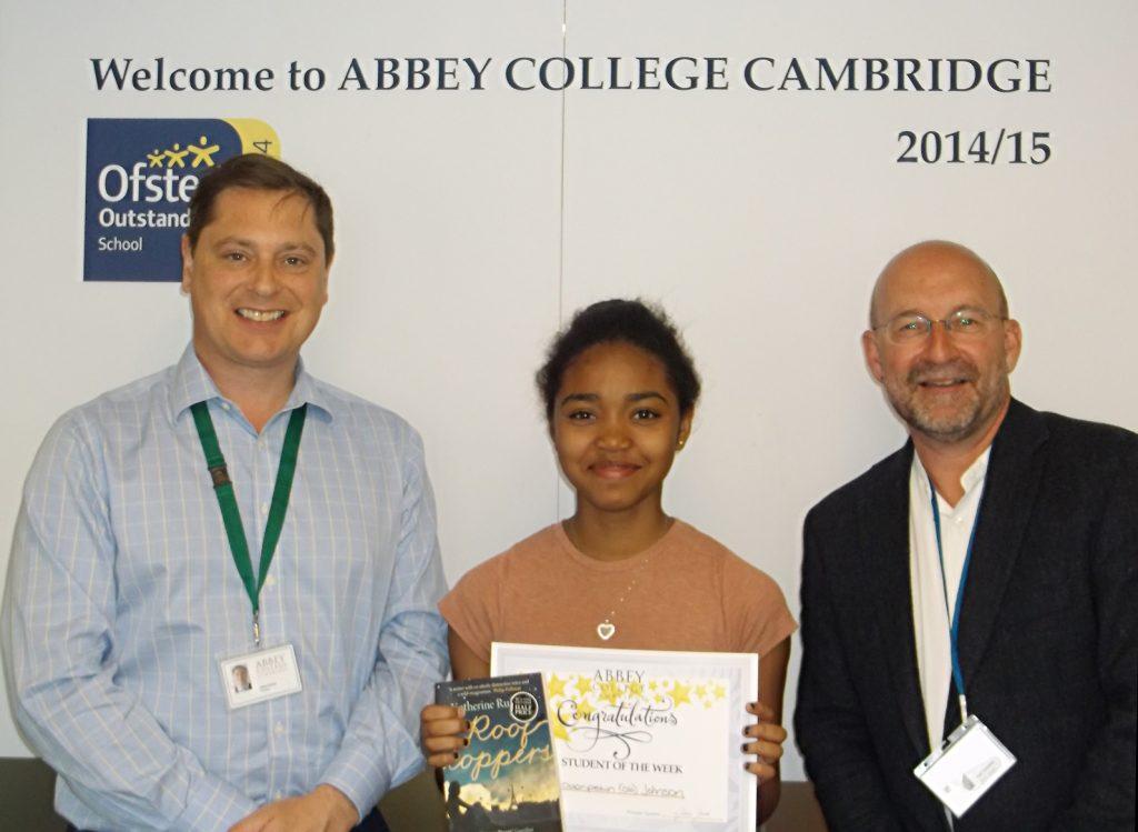 Abbey College Cambridge GCSE Student Ola Johnson