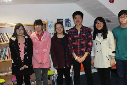 Abbey College Cambridge Speak English Week Voice Coach Workshops
