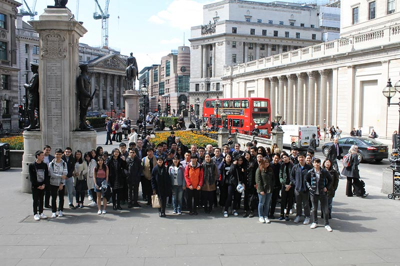 A Level Economics trip to the bank of England