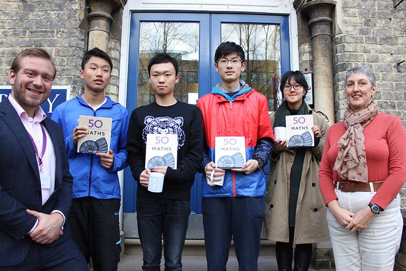 Abbey College Cambridge Mathematicians