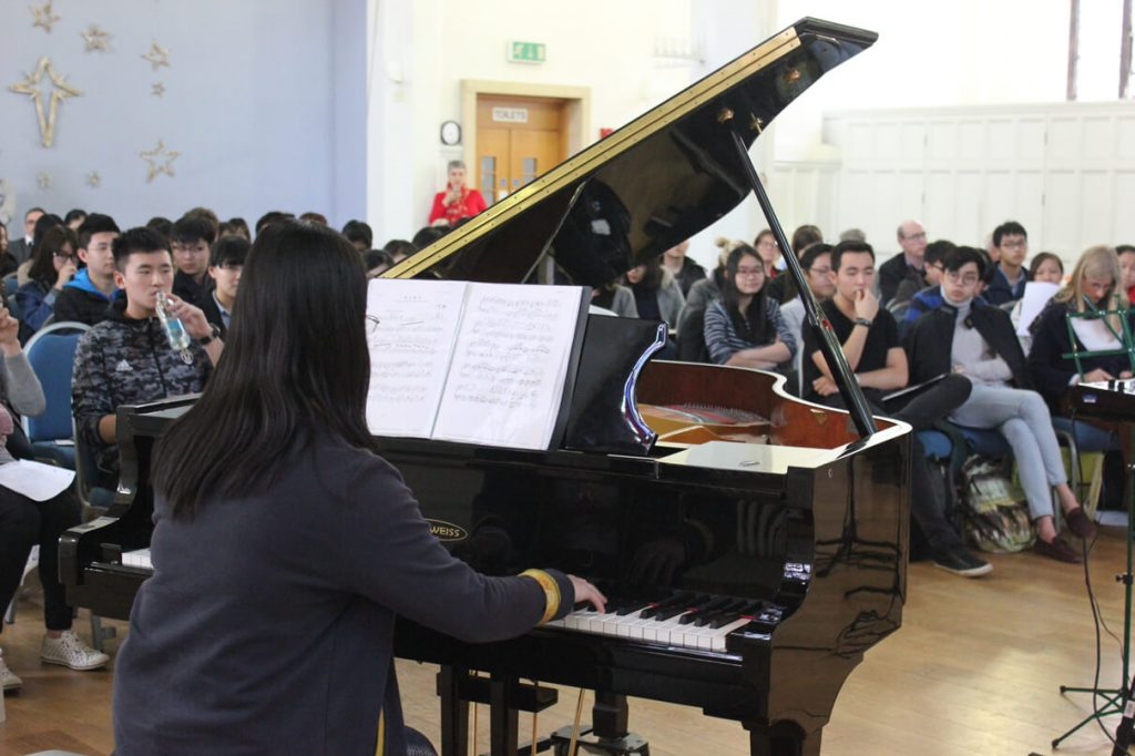 Abbey College Cambridge Music Students