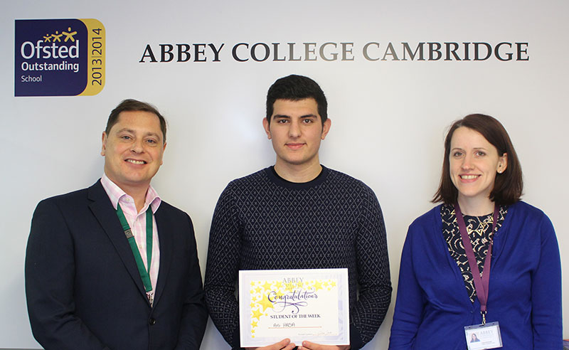 Abbey College Cambridge Politics Student Ani