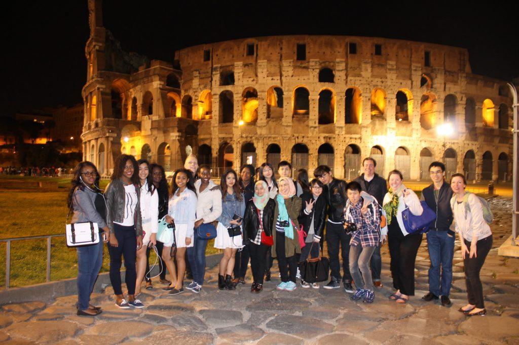 Abbey College Cambridge Italy Trip