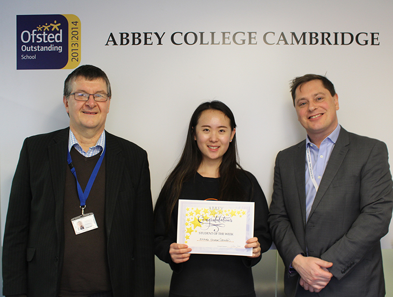 Abbey College Cambridge Student Jennifer