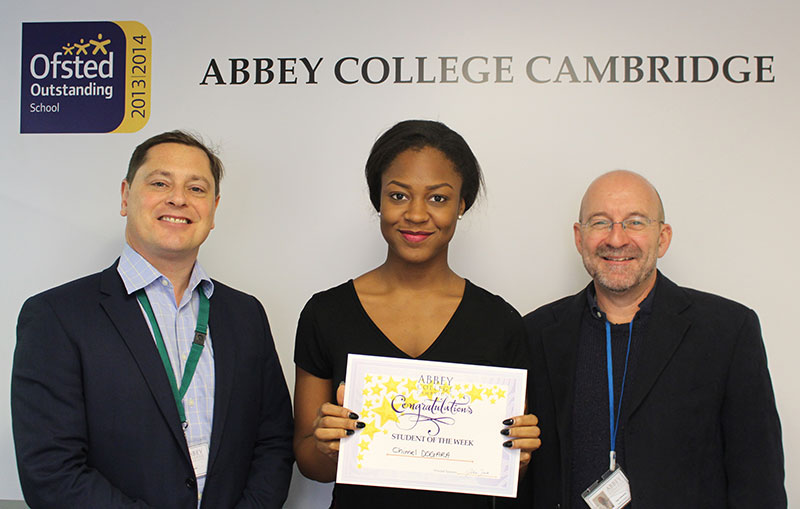 Abbey College Cambridge Student Chimel