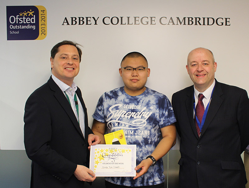 Abbey College Cambridge Student Gabe