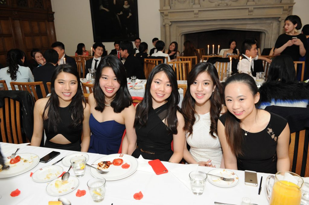 Abbey College Cambridge A Level students at the May Ball