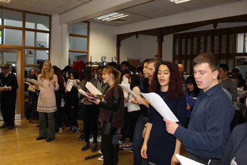 Abbey College Cambridge A level Music Students