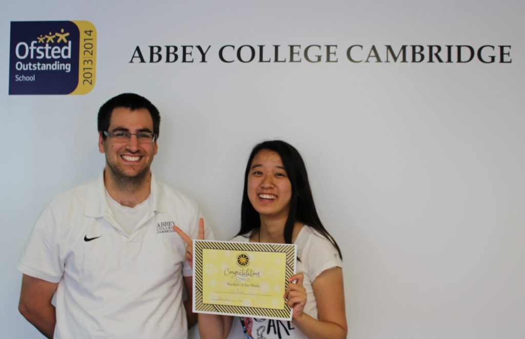 Abbey College Cambridge Summer School Student Echo
