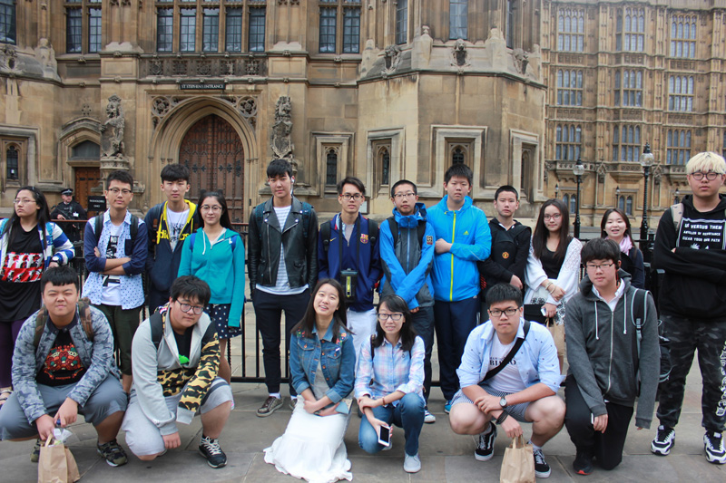 Abbey College Cambridge Summer School Parliament Trip
