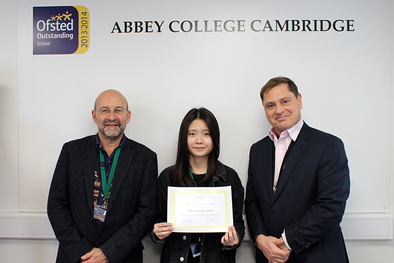 Abbey College Cambridge A Level Student Cora