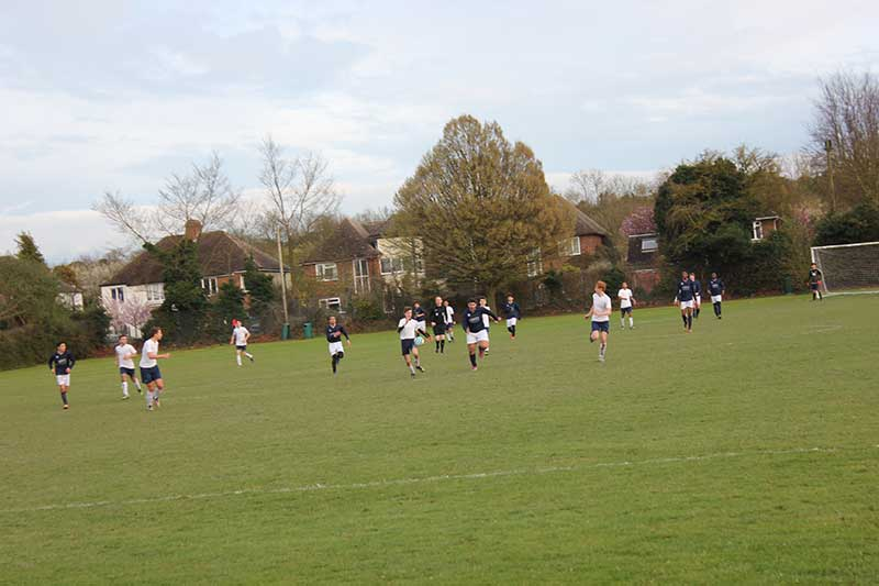 Abbey FC vs DLD College London