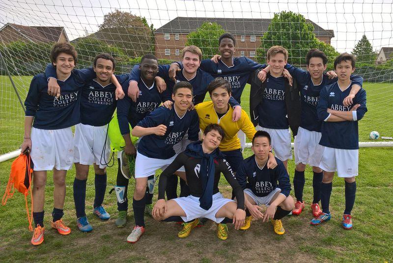 Abbey College Cambridge Football Team
