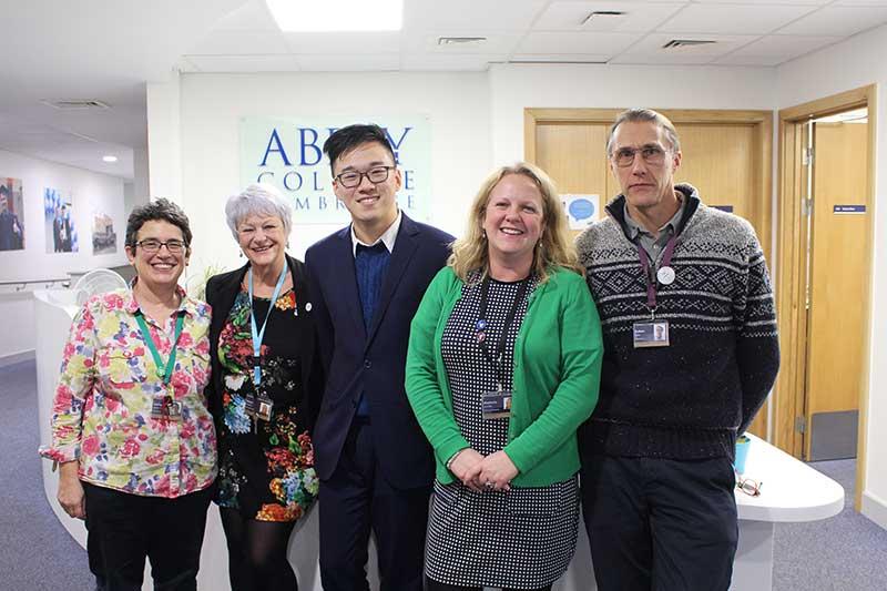 Abbey College Cambridge Student Ben Wins Internship at ARM