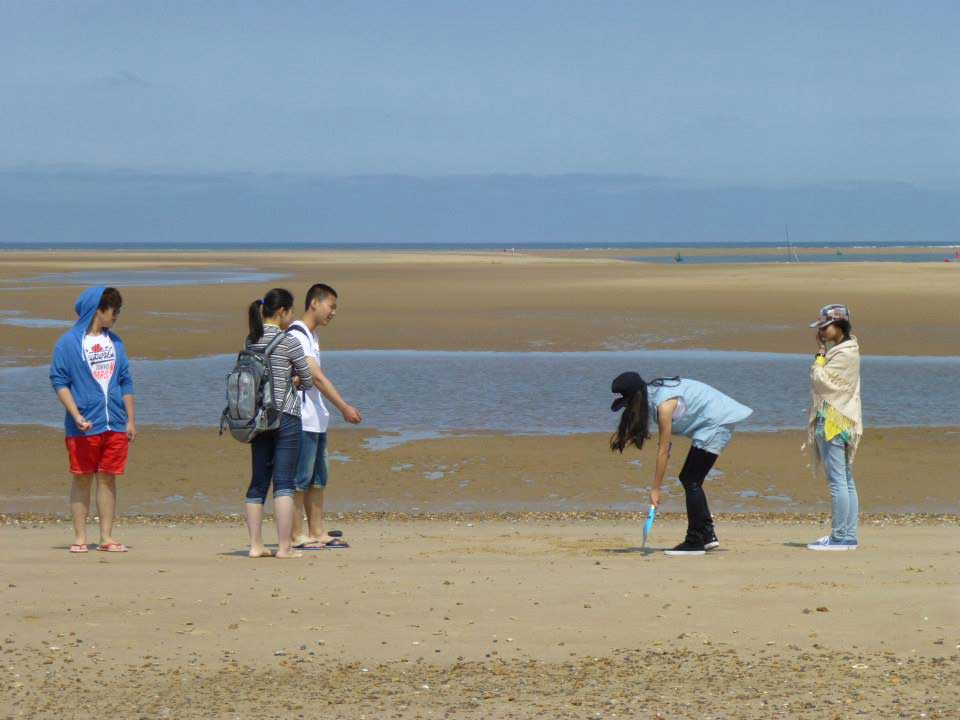 Abbey College Cambridge Summer School Wells Beach Trip