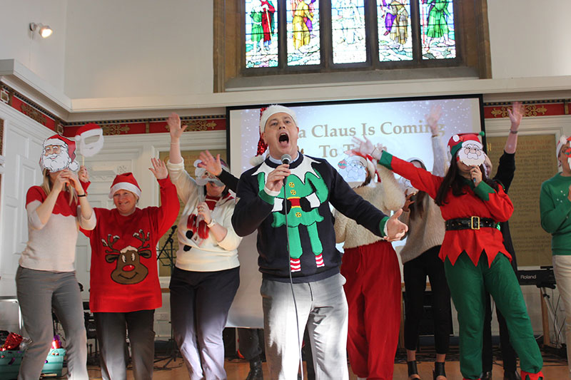 Abbey College Cambridge Xmas Assemblies