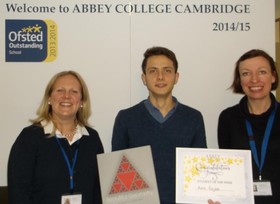 Abbey College Cambridge Student Amin