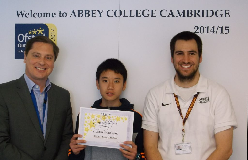 Abbey College Cambridge GCSE Student Charles