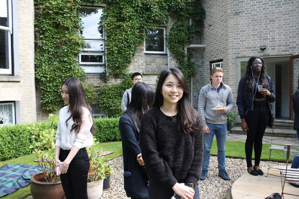 Abbey College Cambridge International Foundation Programme Student BBQ