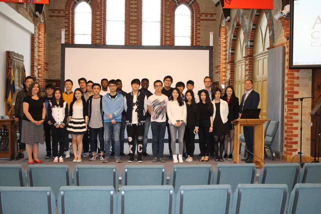 Abbey College Cambridge International Foundation Programme Student Event