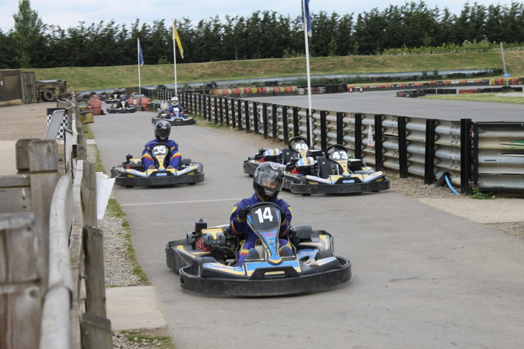 Abbey College Cambridge International Foundation Programme Students Go Karting