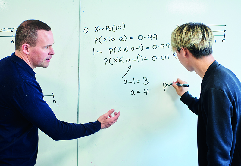 Abbey College Cambridge Mathematics lesson