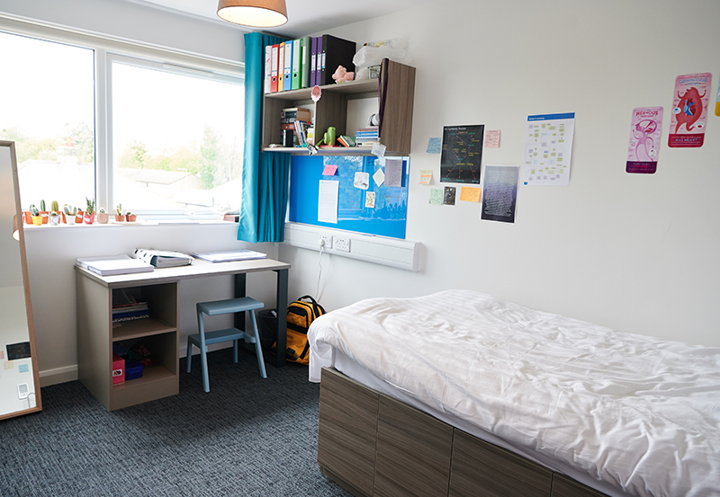 Orchard House Student Bedroom